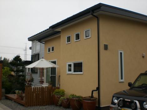 I邸新築住宅完成の様子写真1