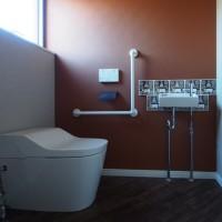 車椅子に対応したトイレ